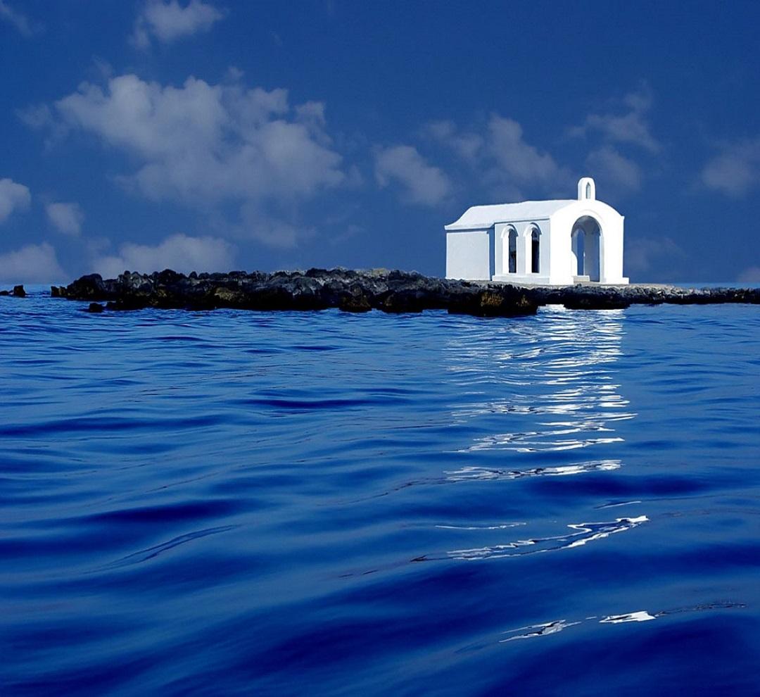 Places to visit St. Nicholas Chapel at Georgioupolis, Crete