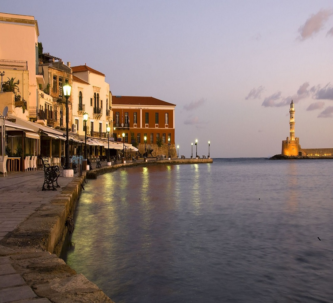 Visit Chania Old Port Places To Visit during your holidays at Villa Christiana Crete